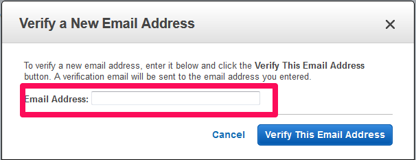 Verify a New Email Address