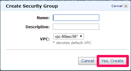 VPC Security Group