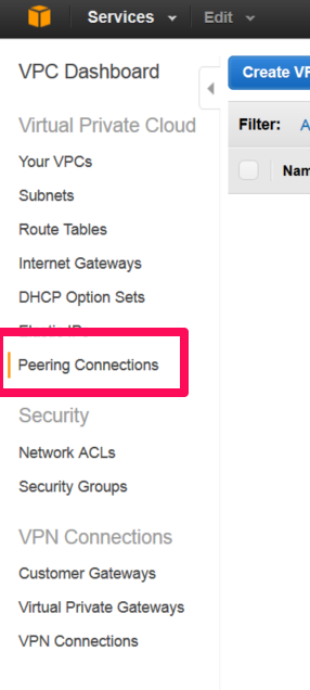 Peering Connections