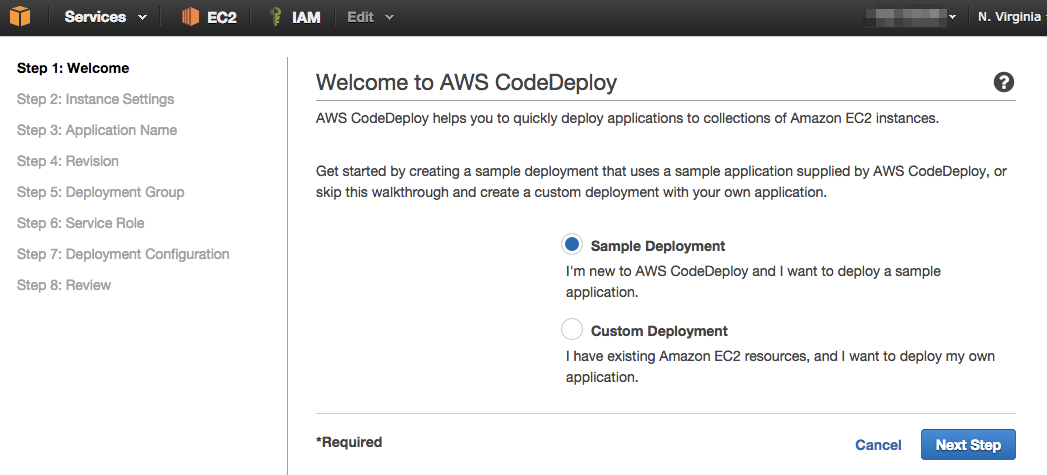 Welcome to AWS CodeDeploy